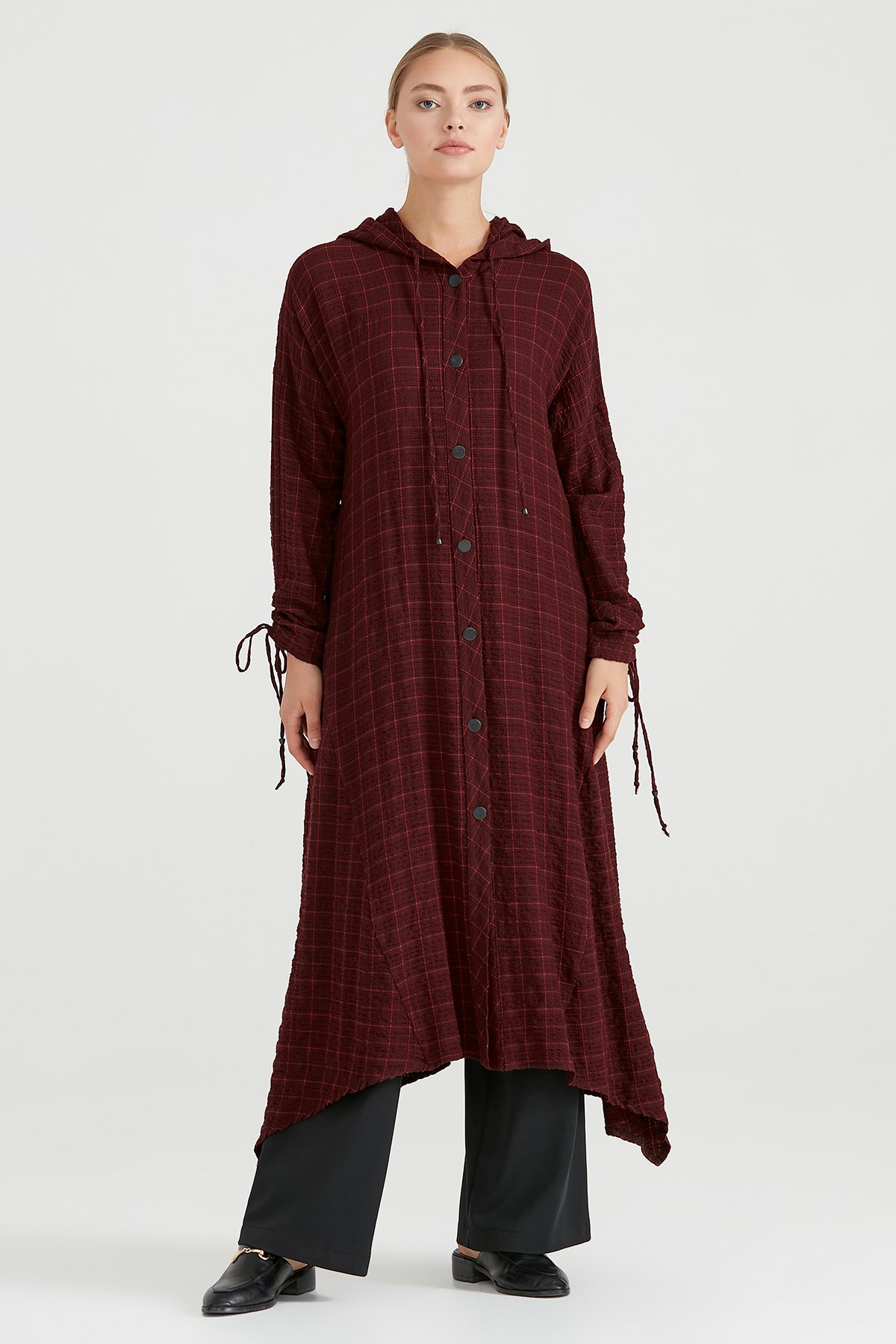 Nihan Tunik Bordo - O5123